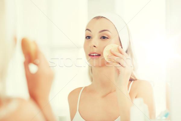 стиральные лице губки ванную красоту Сток-фото © dolgachov