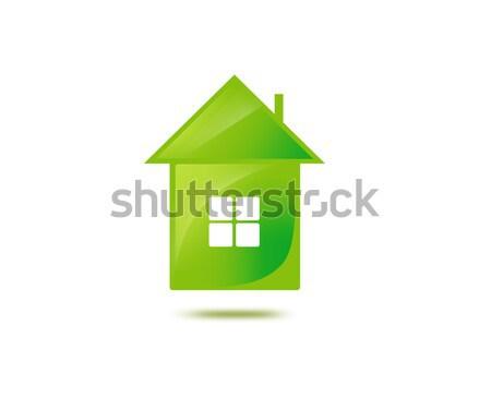 иллюстрация теплица фотография дома домой Сток-фото © dolgachov