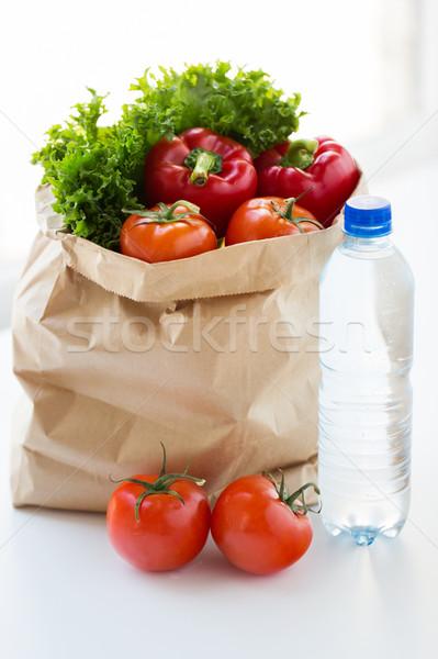 紙袋 野菜 水 料理 ダイエット ストックフォト © dolgachov