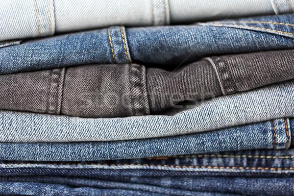 デニム 服 ジーンズ 着用 ストックフォト © dolgachov