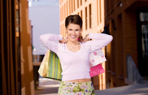 Stock photo: shopper