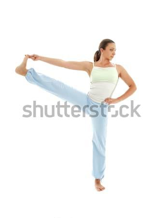 yoga standing #2 Stock photo © dolgachov