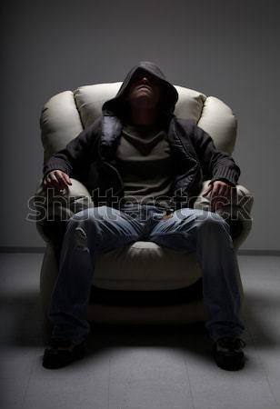 white chair Stock photo © dolgachov