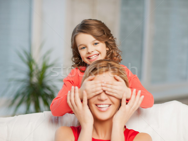 mother and daughter Stock photo © dolgachov