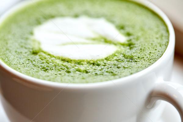 カップ 緑茶 ドリンク ダイエット 減量 ストックフォト © dolgachov