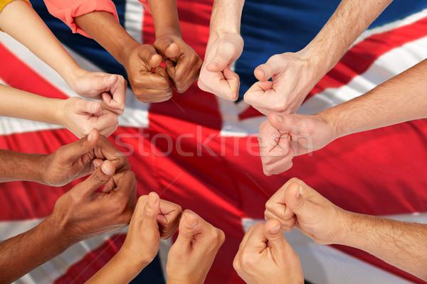Zdjęcia stock: Ręce · międzynarodowych · ludzi · imigracja