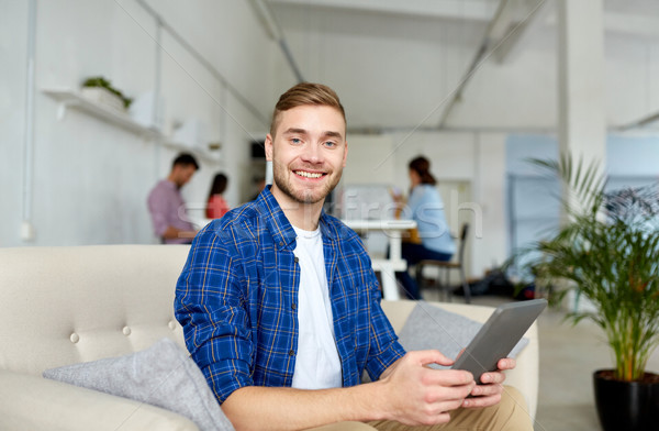 Mann arbeiten Büro Business Bildung Stock foto © dolgachov