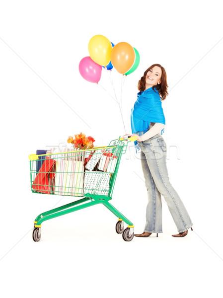 holiday shopper Stock photo © dolgachov
