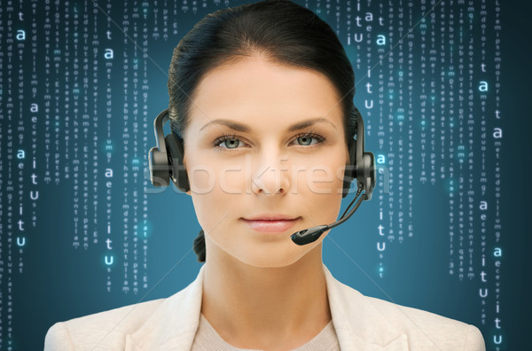телефон доверия бизнеса служба технологий будущем дружественный Сток-фото © dolgachov