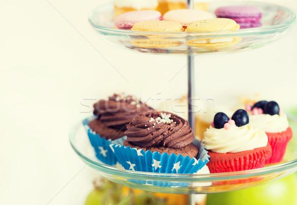 торт стоять Cookies нездорового питания Сток-фото © dolgachov