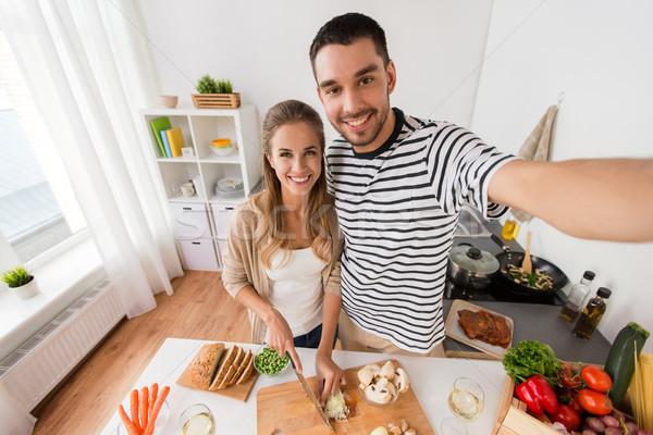 çift pişirme gıda mutfak teknoloji Stok fotoğraf © dolgachov