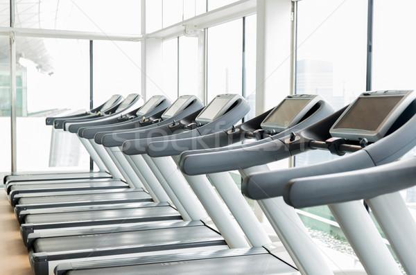 Siłowni sportu fitness działalności ciało Zdjęcia stock © dolgachov
