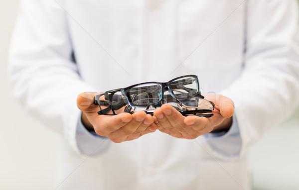 оптик очки оптика магазине Сток-фото © dolgachov