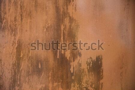 Stock fotó: Közelkép · öreg · rozsdás · fém · felület · textúra · fal