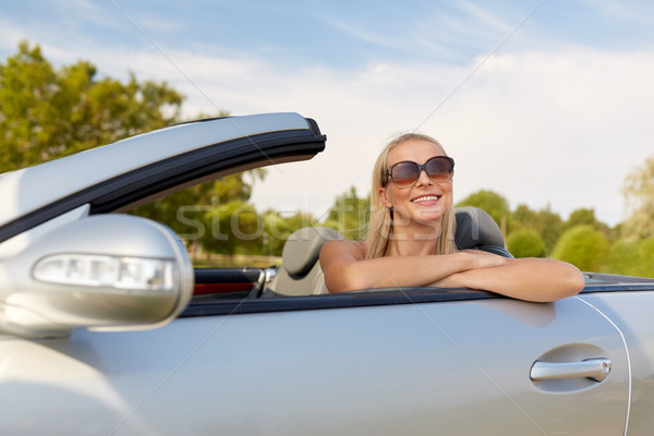 828a4e4c8 happy young woman in convertible car stock photo © Syda Productions ...