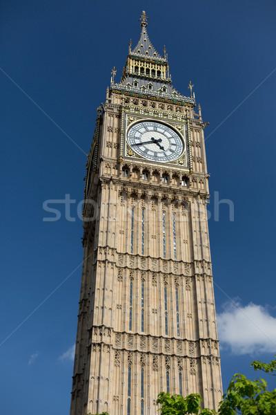 Big Ben great clock tower in London Stock photo © dolgachov