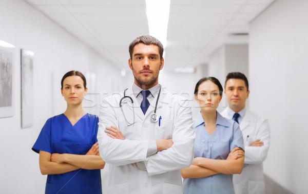 Сток-фото: группа · врачи · больницу · клинике · профессия · люди