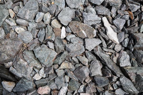 Granit taşlar doğa arka plan taş Stok fotoğraf © dolgachov