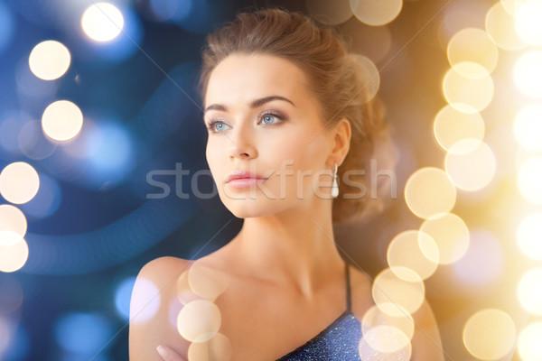 Сток-фото: женщину · Diamond · ювелирные · роскошь · vip
