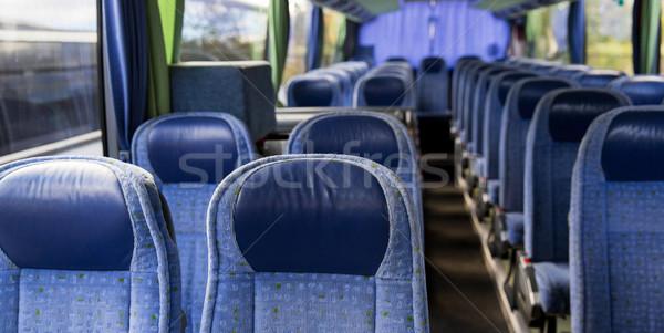 travel bus interior Stock photo © dolgachov