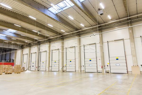 Сток-фото: склад · дверей · груза · коробки · хранения