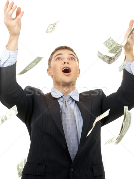 money rain Stock photo © dolgachov
