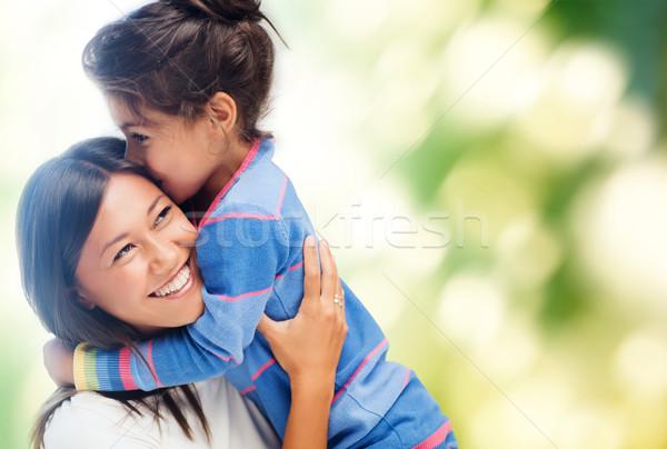 Zdjęcia stock: Matka · córka · rodziny · dzieci · szczęśliwych · ludzi