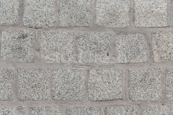 close up of paving stone or facade tile texture Stock photo © dolgachov