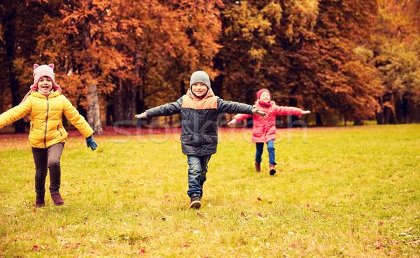 Сток-фото: счастливым · мало · детей · работает · играет · улице