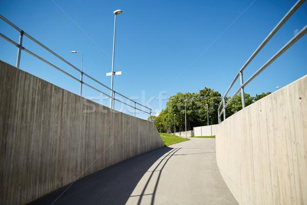都市 市 トンネル 建設 近代建築 建物 ストックフォト © dolgachov