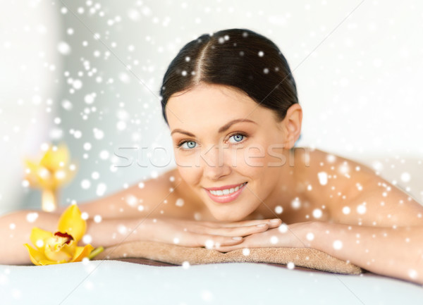 женщину Spa здоровья красоту курорта Сток-фото © dolgachov