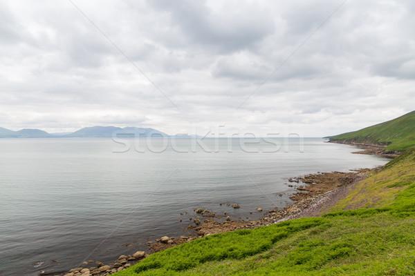 ストックフォト: 表示 · 海 · 方法 · アイルランド · 自然