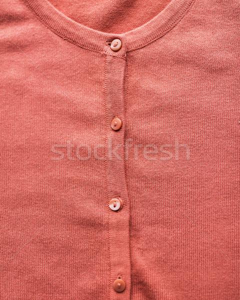 Cardigã roupa desgaste moda objetos Foto stock © dolgachov