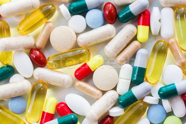 Сток-фото: различный · таблетки · капсулы · наркотики · медицина · здравоохранения