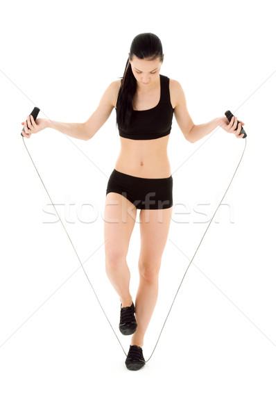 fitness Stock photo © dolgachov