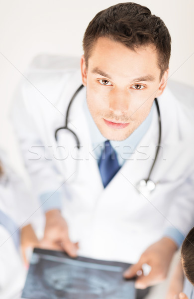 male doctor with x-ray Stock photo © dolgachov