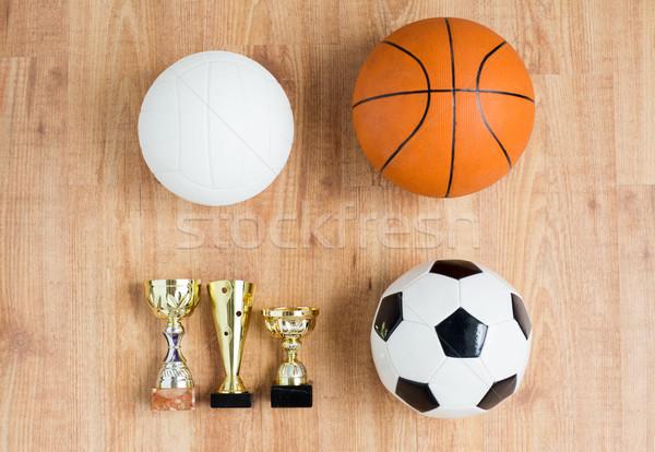 Foto d'archivio: Calcio · basket · pallavolo · coppe · sport