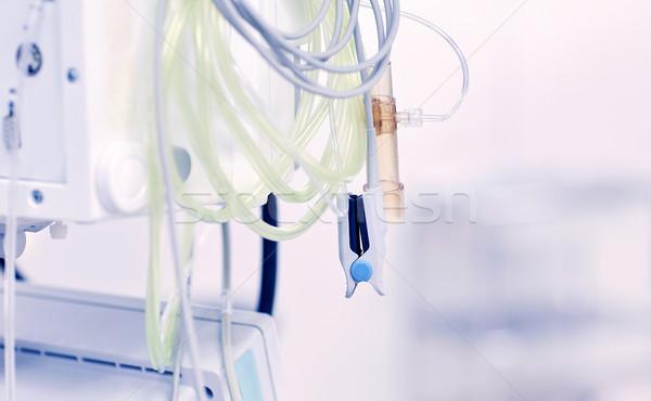 Kórház műtő gyógyszer egészségügy vészhelyzet orvosi felszerelés Stock fotó © dolgachov