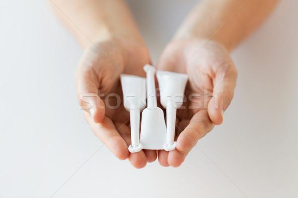 стороны Трубы микро медицина здравоохранения Сток-фото © dolgachov