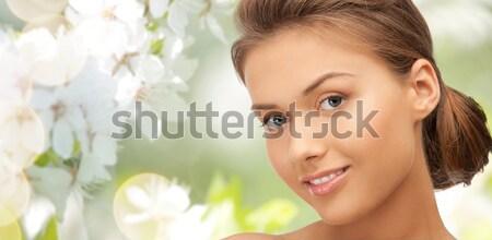 madonna lily blonde Stock photo © dolgachov