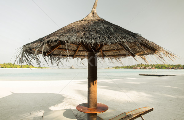 Mar Maldivas playa viaje turismo vacaciones Foto stock © dolgachov