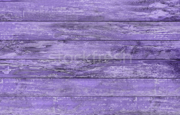 Stock photo: ultra violet wooden floor or wall