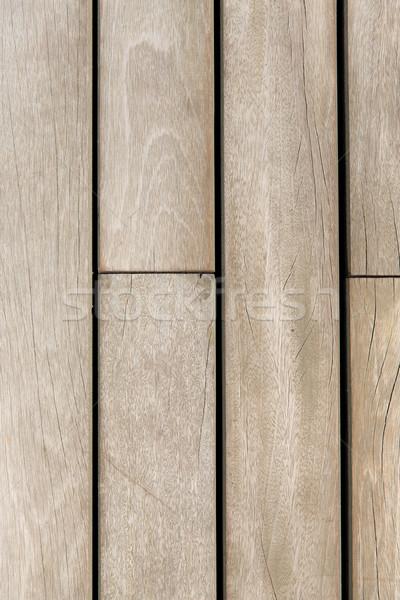 wooden floor or wall texture Stock photo © dolgachov