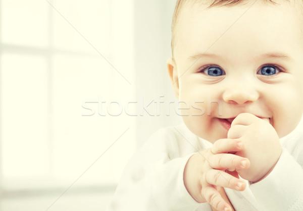 Adorável bebê menino criança felicidade pessoas Foto stock © dolgachov