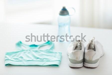 Baby muffole abbigliamento oggetto Foto d'archivio © dolgachov
