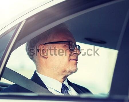 幸せ 男 バーチャル 現実 ヘッド 3dメガネ ストックフォト © dolgachov