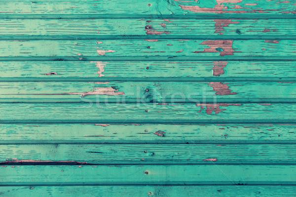 Сток-фото: старые · окрашенный · синий · фоны · текстуры