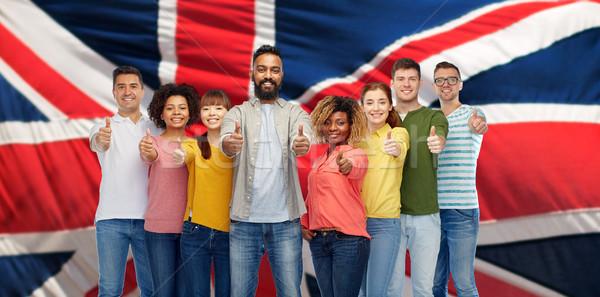 Internacional pessoas do grupo imigração diversidade Foto stock © dolgachov