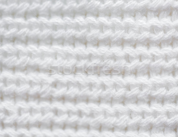 close up of knitted item Stock photo © dolgachov