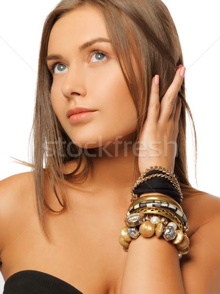美人 明るい 画像 女性 顔 美 ストックフォト © dolgachov